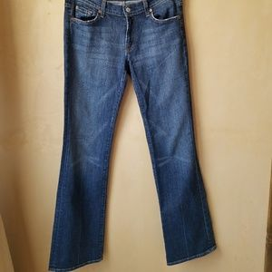 7 For All Man Kind  Bootcut Size 31